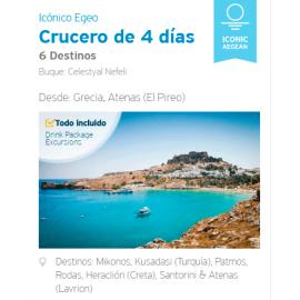 Crucero 4 Días - Egeo Icónico, Semana Santa, desde Atenas El Pireo