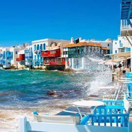 Viaje Atenas Mykonos