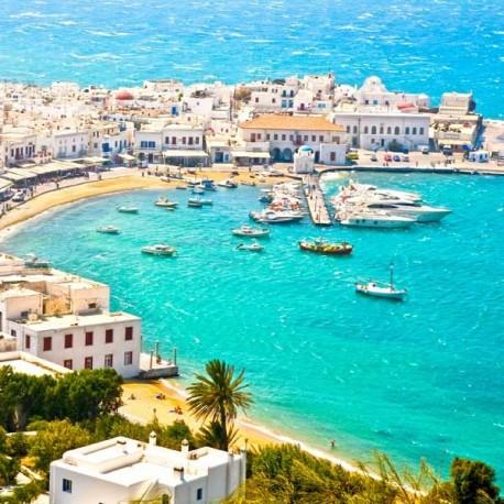 Viaje Atenas (3n) y Mykonos (4n)