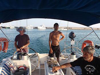Navegar por las islas griegas