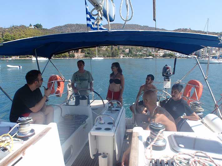 Vida a bordo de un barco velero