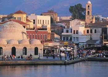 Barrios y lugares de Chania, Creta