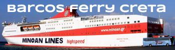 Consultas y Reservas de Barcos Ferry en Creta