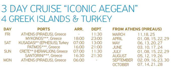 Crucero Celstyal 3 Días Islas Griegas y Turquía