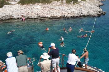Goleta Galileo | La piscina del Barco