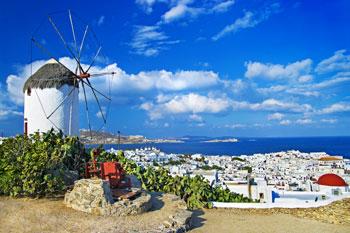 Isla griega de Mykonos, Grecia