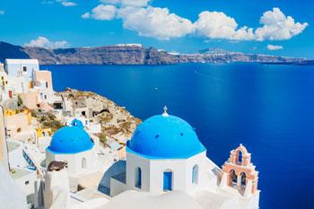 Isla griega de Santorini, Grecia