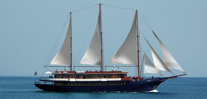 Crucero Joyas de Cicladas | Variety Cruises | Goleta Galileo