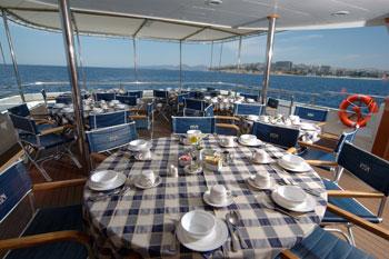 Panorama II (2) | La popa, lugar para los desayunos vistas al mar