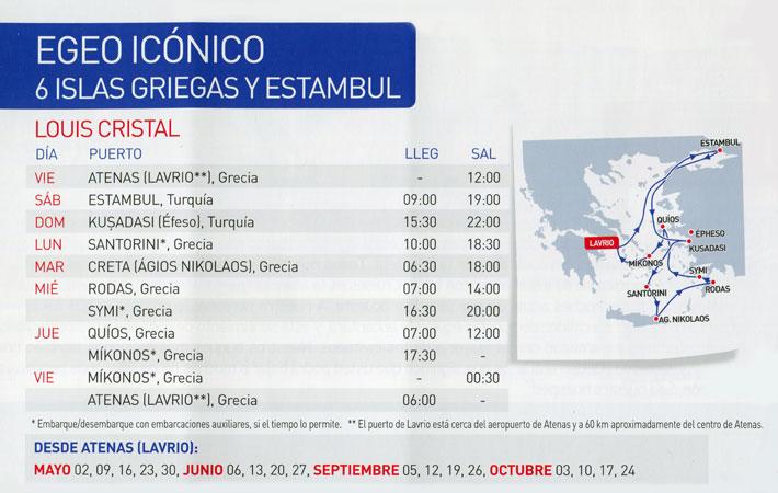 Crucero Louis 7 Días Egeo Icónico, Grecia, Estambul y Turquía