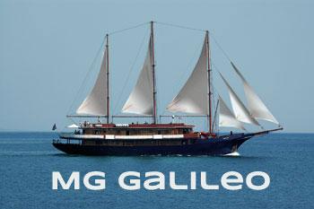 Mega Goleta Galileo de Variety Cruises