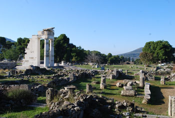 Yacimiento arqueológico de Epidauro