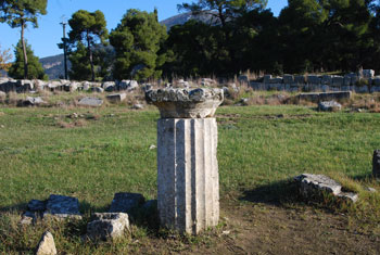 Recinto arqueológico de Epidauro