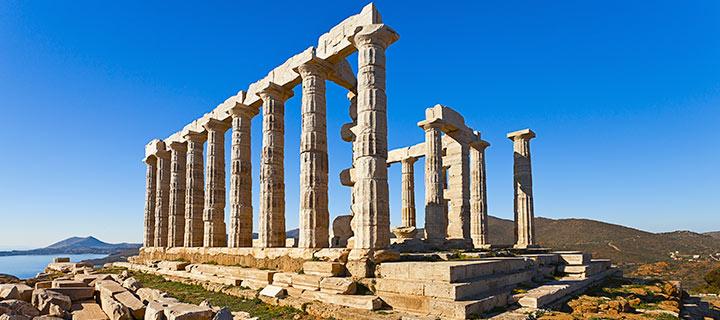 Templo de Poseidón , Cabo Sunio Grecia