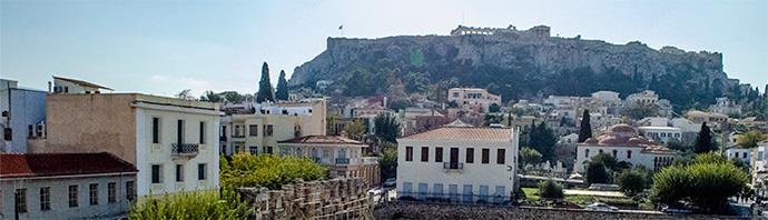 Paseo Guiado por Atenas al Atardecer