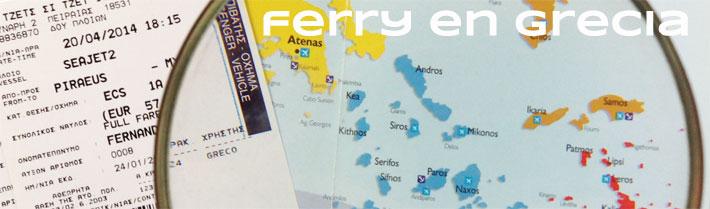 Ferry Grecia, Atenas, Islas griegas