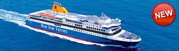 Barco Ferry Blue Star Delos en Grecia