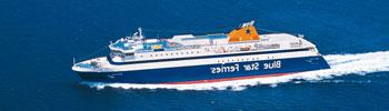 Barco Ferry Blue Star Naxos en Grecia