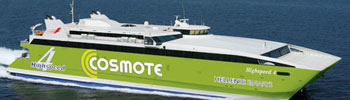 Barco Ferry High Speed 4 de Hellenic Seaways en Grecia