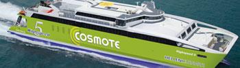 Barco Ferry High Speed 5 de Hellenic Seaways en Grecia