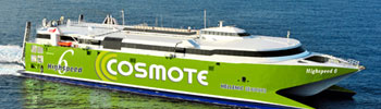 Barco Ferry High Speed 6 de Hellenic Seaways en Grecia
