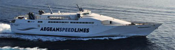 Barco Ferry Aegean Speed 4 de Aegean Speed Lines en Grecia