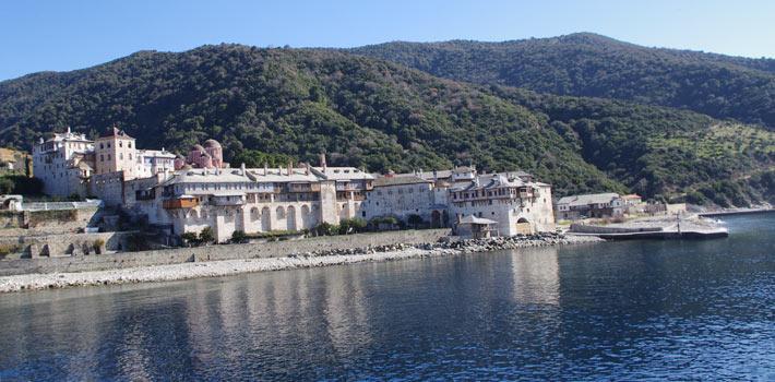 Halkidiki, en la region de Macedonia de la Grecia Continental