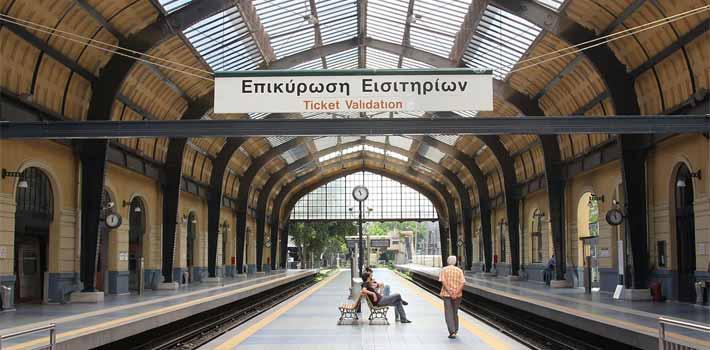Tren, los Trenes y el Ferrocarril en Grecia, Grecia