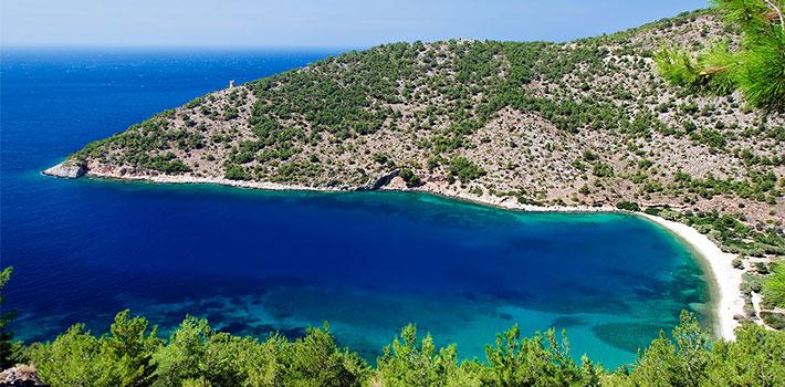 La isla de Chios, Islas del Egeo Norte, Grecia, Islas Griegas