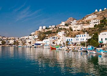 LLa isla de Leros, Islas del Dodecaneso,Islas Griegas