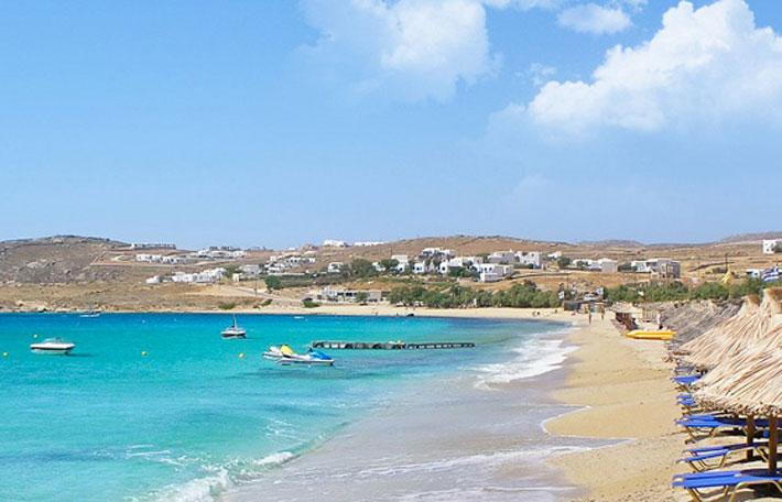 Playas de Mykonos: Playa de Agrari