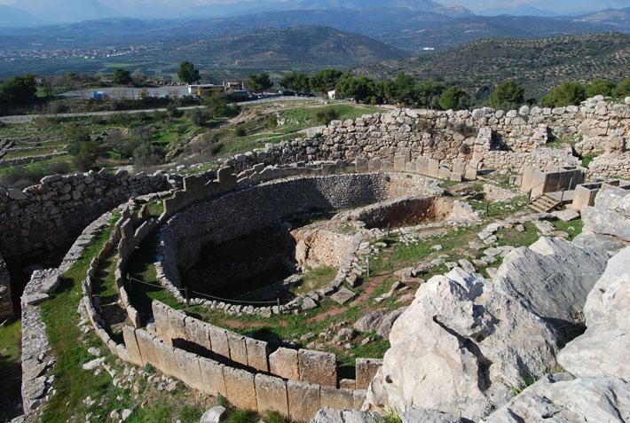 El Círculo A de Micenas, Grecia