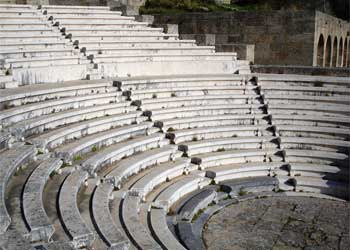 Teatro de la Acropolis de Rodas, Monte Smith