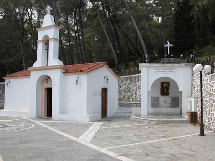 Capilla de Agios Soulas, Rodas