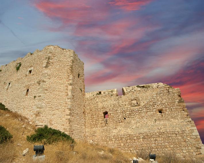 Castillo de Kritinia, Rodas
