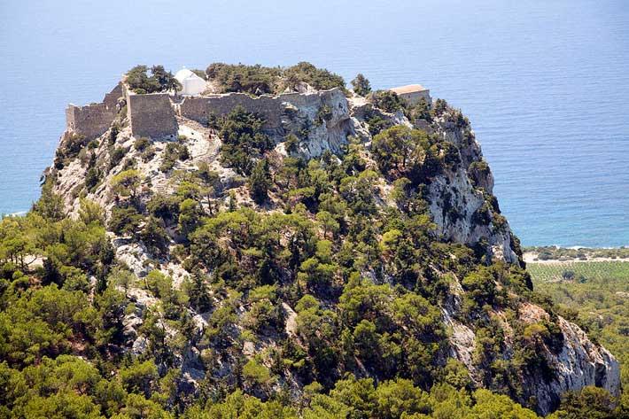 Castillo de Monolithos, Rodas