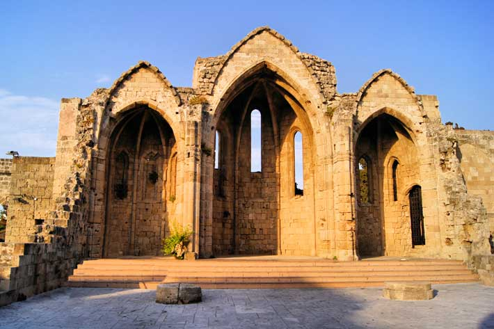 Catedral Iglesia Panagia tou Bourgou, Rodas
