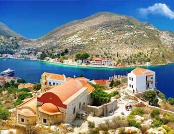 Isla griega de Kastellorizo, Grecia
