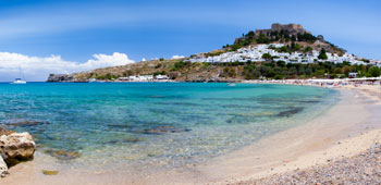 Playas de Rodas, Grecia