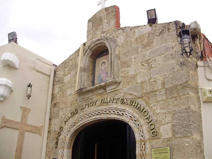 Igelsia Agios Panteleimon, Rodas