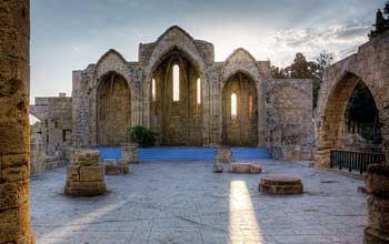 Catedral del Burgo (Tou Bourgou), Rodas