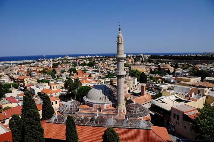 Mezquita de Solimán el Magnífico, Rodas