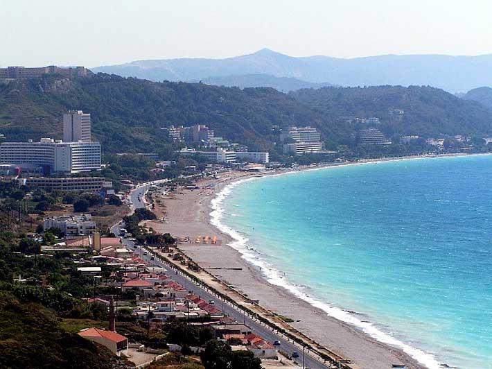 Playa de Ialissos (Ialyssos) | Playas de Rodas