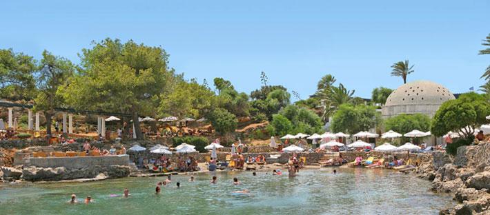 Playa de Kallithea (Kalithea) | Playas de Rodas