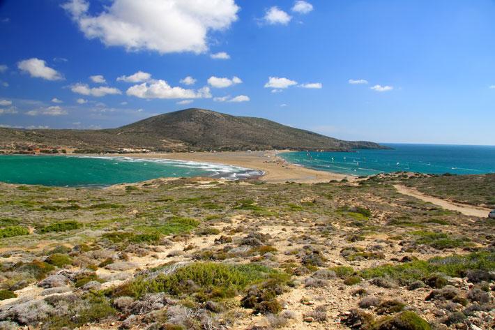 Playa de Prasonisi (Prassonisi) | Playas de Rodas