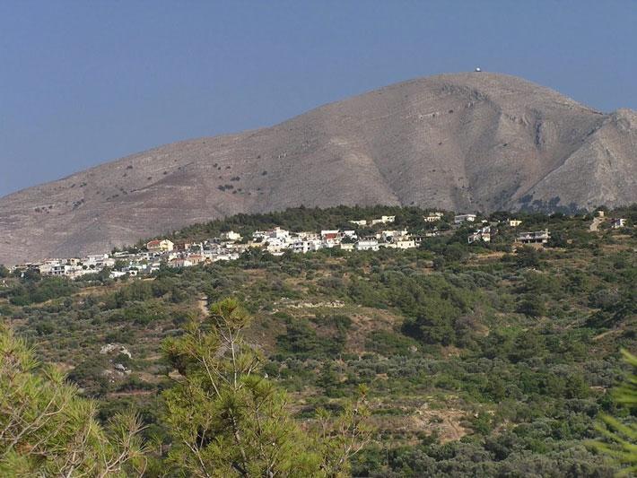 Pueblo de Kritinia, Rodas
