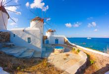 Viaje Atenas Santorini Mykonos