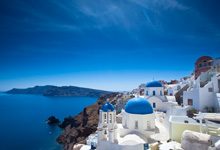 Viajes a Atenas y Santorini