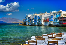 Viaje Atenas y Mykonos