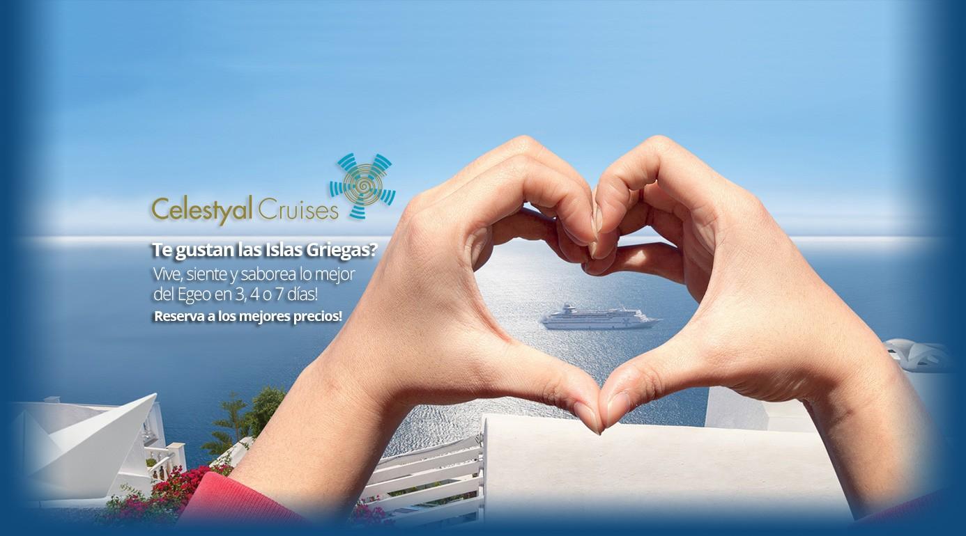 Reserva Crucero Celestyal Cruises